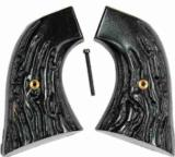 Colt SAA, 3rd Generation Imitation Jigged Buffalo Horn Grips - 1 of 1