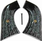 Ruger Super Blackhawk Imitation Jigged Buffalo Horn Grips - 1 of 1