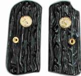 Colt 1903 & 1908 Imitation Jigged Buffalo Horn Grips