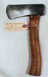 Marbles Axe, MSA No. 9 Wood Handle Axe