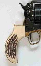 Ruger Vaquero Lightning Brass Backstrap, Jigged Grips - 2 of 2