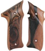 Ruger MKIII .22 Auto Tigerwood Grips - 1 of 1