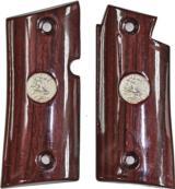 Colt Mustang or Colt Pocketlite Rosewood Grips - 1 of 1