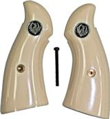 Ruger Security Six Revolver Grips With Medallions