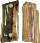 Colt Mustang & Colt Pocketlite Fossilized Walrus Ivory Grips