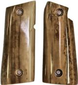 Colt Mustang or Colt Pocketlite Real Fossilized Walrus Ivory Grips - 1 of 2