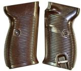 Walther P 38, WWII Model Grips, Brown