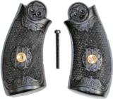 Iver Johnson .38 Top Break Revolver Grips, 3rd Model - 1 of 1