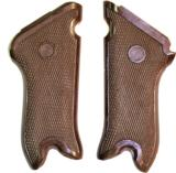 Luger P.08 VOPO WWII German Police Grips, Brown