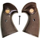 Colt Python .357 Revolver Royalwood Grips, 2nd Gen