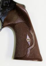 Smith & Wesson N Frame Revolver Royalwood Roper Style Grips, Square Butt - 3 of 5