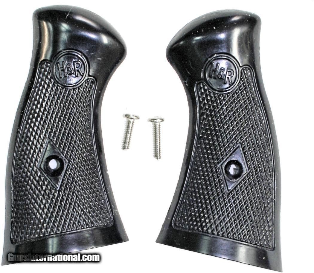 H & R New Model Revolver Grips With Coil Mainsprings, 4