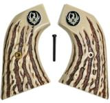 Ruger New Vaquero 2005 XR3 Imitation Jigged Bone Grips