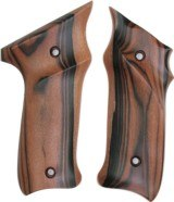 Ruger MKII .22 Auto Tigerwood Grips, Smooth