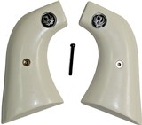 Ruger Super Blackhawk Ivory-Like Grips, Smooth With Medallions - 1 of 1