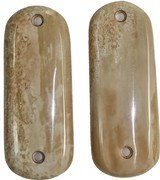 Colt 1902 Hammer Auto Fossilized Alaskan Walrus Ivory Grips - 1 of 1