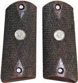 Colt Model 1905 Auto Royalwood Checkered Grips With Medallions