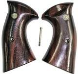 Original Smith & Wesson K & L Frame Target Style Walnut Grips