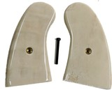 Colt Python Real Fossilized Walrus Ivory Grips, Small Panel