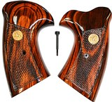 Colt MKV Goncalo Alves Grips With Medallions