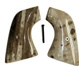 Ruger Single Six Revolver Fossilized Walrus Ivory Grips - 1 of 1