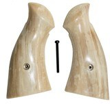 Smith & Wesson K & L Frame Real Fossilized Walrus Ivory Grips, Square Butt - 1 of 1