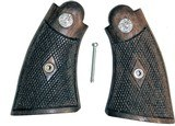 Smith & Wesson K Frame 1950's Style Walnut Grips With Medallions - 1 of 1