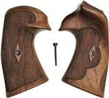 Colt Python I/E Frame Vintage Walnut Roper Grips