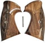 Colt Python I/E Frame Vintage Walnut Roper Grips By Keith Brown