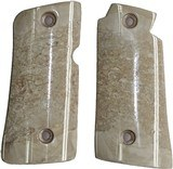 Colt Mustang or Colt Pocketlite Real Fossilized Walrus Ivory Grips