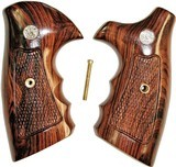 Smith & Wesson J Frame Rosewood Combat Grips, Checkered - 1 of 1