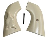 Uberti Old Model P 1873 Ivory-Like Grips, With Bison Skull - 1 of 1