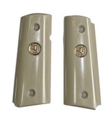 Colt New Agent SA Ivory-Like Grips With Medallions - 1 of 1