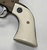 Ruger Wrangler .22 Revolver Ivory-Like Grips, Eagle & Snake & Medallions - 3 of 5