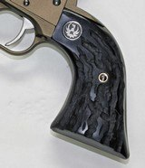 Ruger Wrangler .22 Revolver Imitation Buffalo Horn Grips With Medallions - 2 of 5
