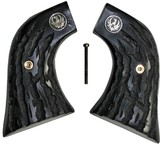 Ruger Wrangler .22 Revolver Imitation Buffalo Horn Grips With Medallions - 1 of 5