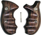 Smith & Wesson K & L Frame Smooth Rosewood Combat Grips, Round Butt - 1 of 6