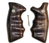 Smith & Wesson K & L Frame Smooth Rosewood Combat Grips, Square Butt - 1 of 6