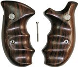 Smith & Wesson N Frame Smooth Rosewood Combat Grips, Round Butt