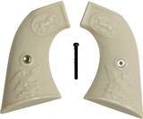 American Western Arms Peacekeeper Revolver .45 Ivory-Like Grips - 1 of 1