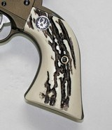 Ruger Wrangler .22 Revolver Stag-Like Grips With Medallions - 3 of 5