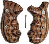Smith & Wesson K & L Frame Smooth Rosewood Combat Grips, Round Butt
