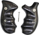 Smith & Wesson K & L Frame Smooth Wenge Wood Combat Grips, Round Butt