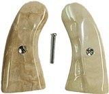 Colt Police Positive Fossilized Alaskan Walrus Ivory Grips