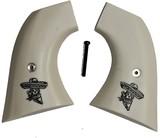 Taurus Gaucho S.A. Ivory-Like Grips, Skull & Sombrero