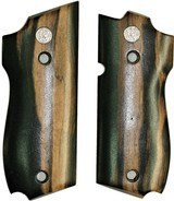 Smith & Wesson Model 39 Auto Smooth Tigerwood Grips - 1 of 1