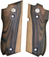 Smith & Wesson Model 39 Auto Smooth Tigerwood Grips