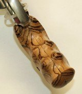 Smith & Wesson N Frame Smooth Zebra Wood Combat Grips - 5 of 5
