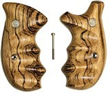 Smith & Wesson N Frame Smooth Zebra Wood Combat Grips - 1 of 5