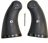 Colt Police Positive Special Checkered Grips, Black - 1 of 5